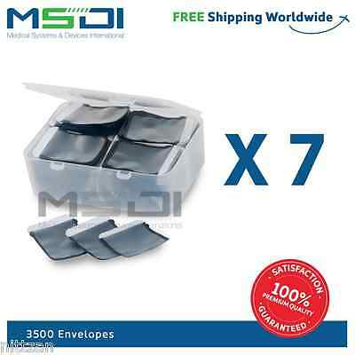 3500 x Barrier Envelopes for phosphor plates canner sizes: 2, 1 , 0
