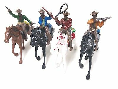 G Scale 1:25 1:25 Painted Figures Horses Western Cowboy for Model Train Layout