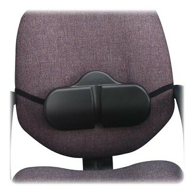 "Lumbar Roll Backrest, Washable, 14""x2-1/2""x8"", Black SAF7150BL"