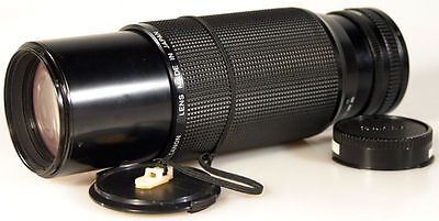 100-300Mm F5.6 Lens W/ Front+Rear Caps For Canon Fd