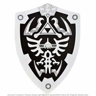 Dark Knight HERO Link Hylian Triforce Foam Shield Legend of Zelda LARP Cosplay