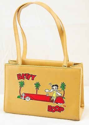 Betty Boop Embroidered Leather Purse