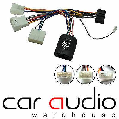 Toyota Avensis 2011 On CLARION Car Stereo Steering Wheel Interface Stalk