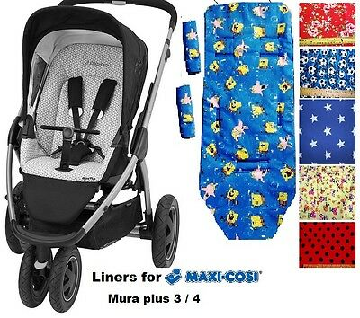 Buggy Liner fit for Maxi Cosi Mura Plus 3 / 4
