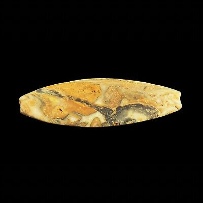 Ancient Bactrian Oval Stone Bead