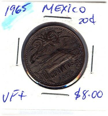 LOT OF  MEXICANS COINS FROM 1965-73