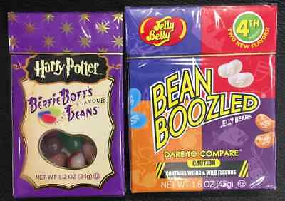 Jelly Belly BeanBoozled 3 Edition & Harry Potter Bertie Botts Beans bean boozled