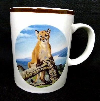 Mountain Lion National Wildlife Federation Mug Coffee Cup Ceramic