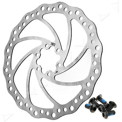 180mm Bicycle Mountain Bike Disc Brake Rotor with bolts