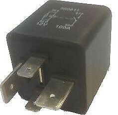 Performance Heavy Duty Relay Switch 12V 100A 4 Terminal On/Off Wood Auto Rly1037
