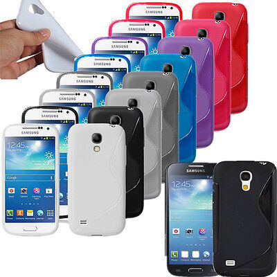 Silicone Rubber Gel S Line Case Cover For Various Samsung Galaxy Phones + SP