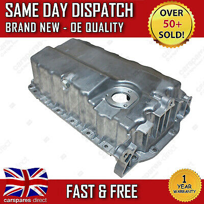 VW CADDY Mk3 TOURAN 1.9, 2.0 OIL SUMP PAN 2003 ON  WITH BORE HOLE FOR OIL SENSOR