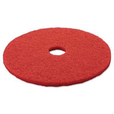 "Buffer Pad, Removes Scuff Marks, 20"", 5/CT, Red MMM08395"