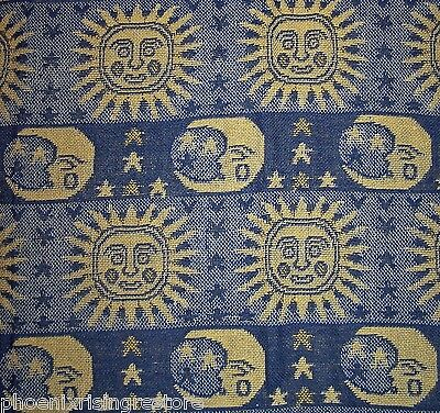 Celtic Throw Handloom Indian Tapestry Celestial Sun Moon Bed Spread 50x60 - NEW