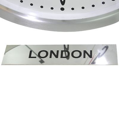 Roco Verre Custom Personalised Stainless Steel Time Zone Signs