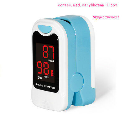 Fingertip Pulse Oximeter Blood Oxygen Saturation SPO2 Heart Rate Monitor HOT 50M