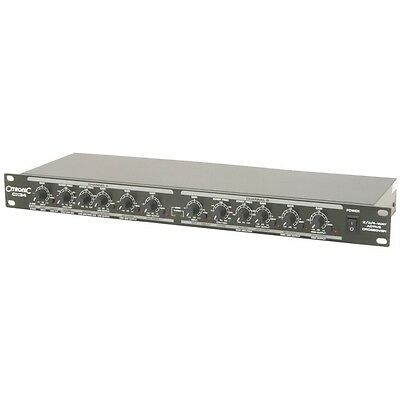 "New Citronic CX34 2/3/4-Way Active Crossover CX 34 19"" Rack Mountable"