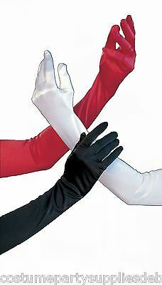 Flapper Gloves...Nurse...Devil...Dance, Opera Costume...20's...30's...40's