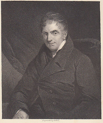 1835 Stampa Originale-Rev. William Holwell Carr. By Jackson -17