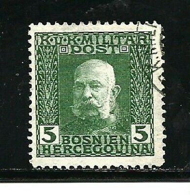 Bosnia and Herzegovina Stamps- Scott # 68/A23-5h-Canc/LH-1912-14-NG