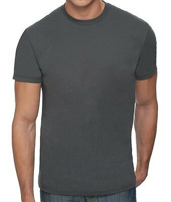 Next Level Apparel Mens 3600 Heavy Metal 100% Cotton Fitted T-Shirt Tee Top New