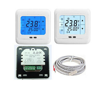 Touch Screen Underfloor Thermostat For Water Electric Heating Mat Panel