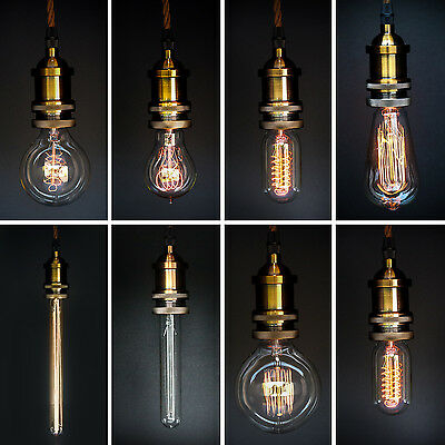 Edison Style Vintage Light bulbs - Filament Light Bulbs - Prices from £5.97
