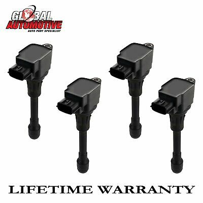New Ignition Coil for 2002 2003 2004 2005 2006 Nissan Sentra 1.8L UF351 4pcs