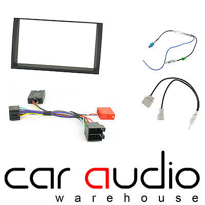 Kia Venga 2009 On Car Stereo D/Din Fascia Steering & Wheel Interface CTKKI16
