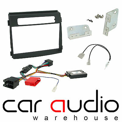 Kia Soul 2012 On Car Stereo D/Din Fascia Steering & Wheel Interface CTKKI18