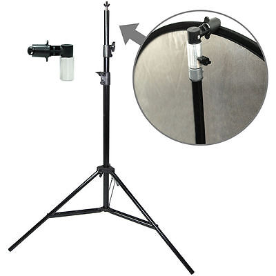 Lusana Studio Photo Background Portable Reflector Disc Holder Clip Stand Kit