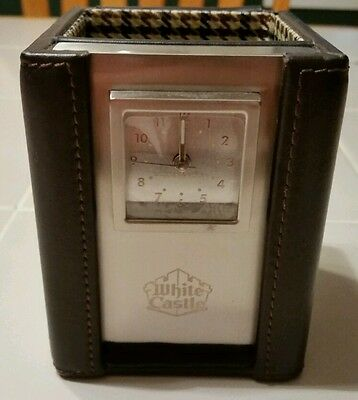 White castle restaurant Collectable clock
