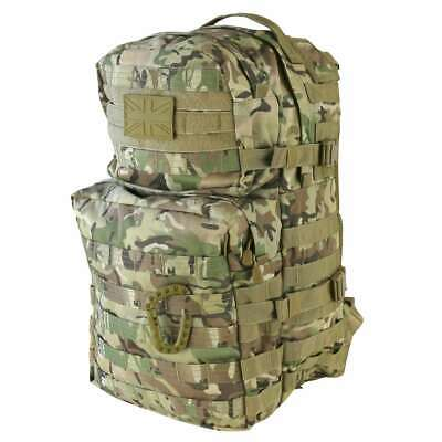 Molle Assault Pack 40L Military Army Rucksack Backpack MTP Style Camo 40 Litre