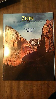 Zion National Park The Story Behind the Scenery  (Souvenir Paperback book)