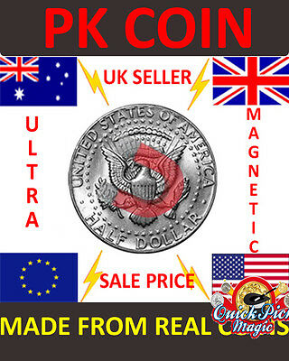 SUPER STRONG MAGNETIC AUSTRALIAN AUD $1 MAGIC TRICK COIN