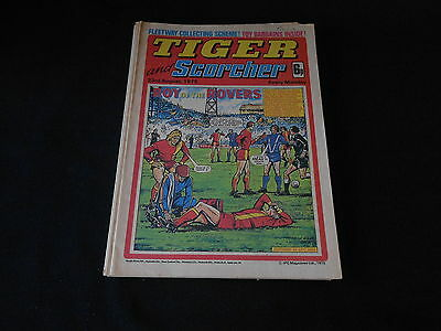 Tiger and Scorcher comic 23rd August 1975