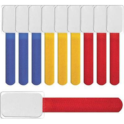 LABEL THE CABLE Mini Klettbinder 10er Set - color mix