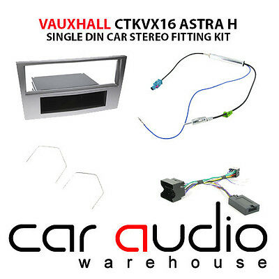Vauxhall Corsa 2006 On Car Stereo S/Din Fascia Steering Wheel Interface CTKVX16