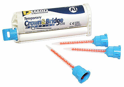Defend Temporary Crown & Bridge Material Shade A2 50 Ml Cartridge 10 Mixing Tips