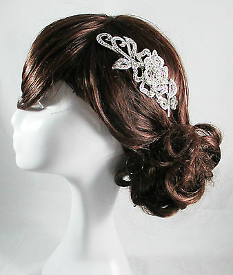 Vintage Wedding Head Piece Bridal Comb Hair Bride Accessories Head Piece Olivia