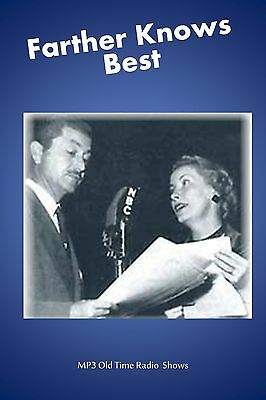 Father Knows Best  (OTR) 65  Old Time Radio Shows MP3 on a single CD