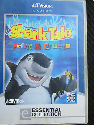 Dream Works, SHARK TALE, Paint & Create, Calendars/Posters/Masks, etc, Exc Cond
