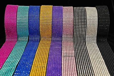 BLING RIBBON SPARKLY Sugarcraft Cake decorating Card craft mesh silver diamante