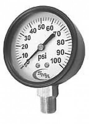 "New 100PSI Dry Gauge 2 1/2"" X 1/4"" MPT"