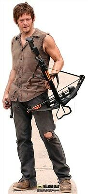 Daryl Dixon Norman Reedus Official Walking Dead Cardboard Cutout Stand Up