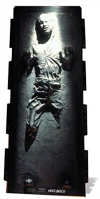 Han Solo - Carbonite Star Wars Cardboard Cutout Stand up. Great for parties!