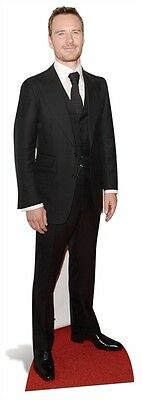 Michael Fassbender Actor Fun Celebrity Cardboard Cutout Stand Up At your party!