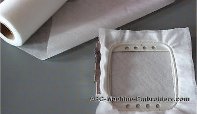 """Water Soluble Embroidery Stabilizer & Backing - Wash Away - for Lace 24""""x10yd"""