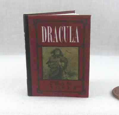 DRACULA 1:6 Scale Readable Book BJD Illustrated Miniature Barbie Doll Size Book