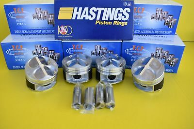 81MM YCP Acura Honda Civic Type R CTR High Compression Pistons B16 B18 JDM